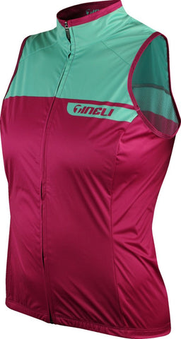 Berry Mint Vent Vest