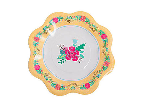 Afternoon Tea Party 10.5-inch paper plates (8 ct)