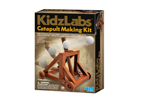4M Kidzlabs Catapult Making Kit