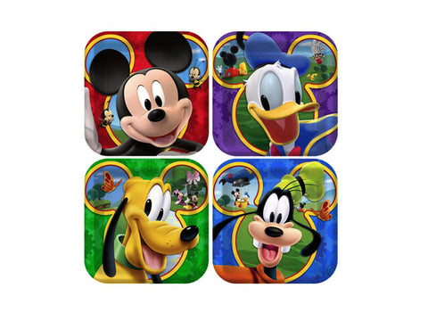 Mickey Mouse Clubhouse 7-inch paper plates (8 ct)
