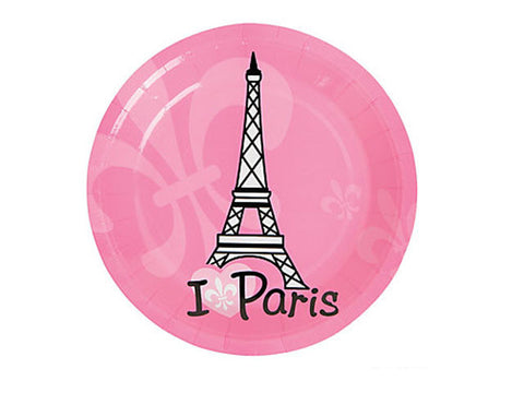 Perfectly Paris 7-inch paper plates (8 ct)
