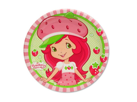 Strawberry Shortcake 7-inch paper plates (8 ct)