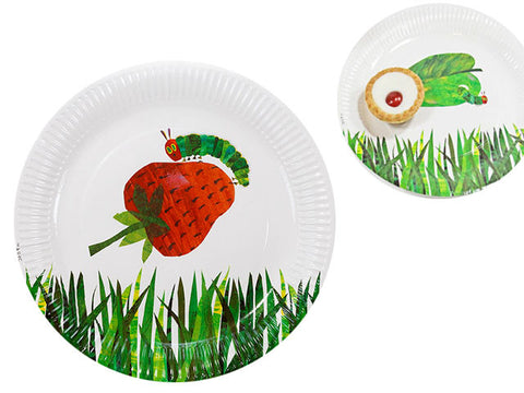 Eric Carle's The Very Hungry Caterpillar 9-inch paper plates (12 ct)