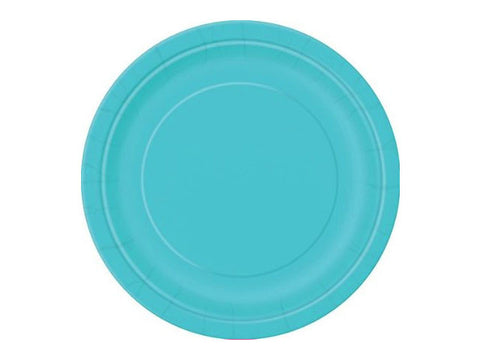 Solid Round 9-inch paper plates - 8 ct - (click for more colors)
