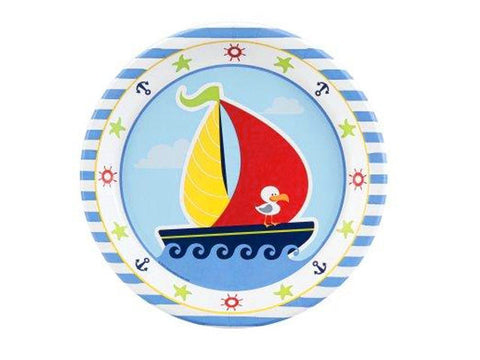 Nautical Fun 9-inch paper plates (8 ct)