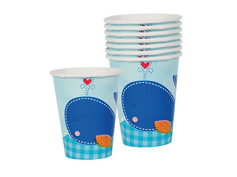 Ahoy Baby Boy Shower Paper Cups (8 ct)
