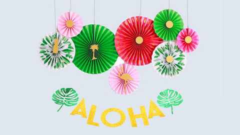 Aloha Wall Decorating Kit