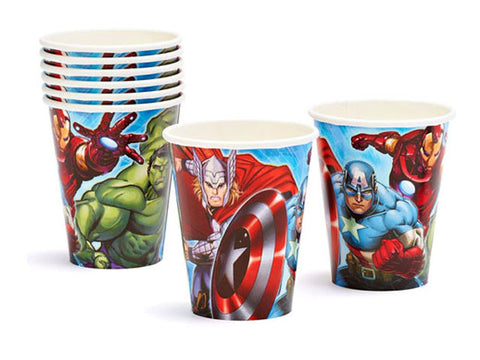 Avengers Paper Cups (8 ct)