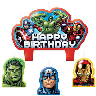 Avengers Birthday Candle