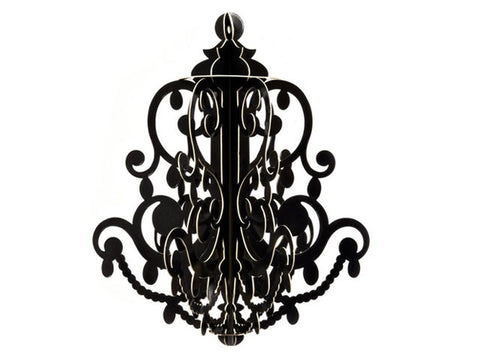 3-D Hanging Chandelier (click for more colors)
