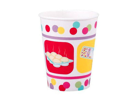 Bake Bash Paper Cups (8 ct)