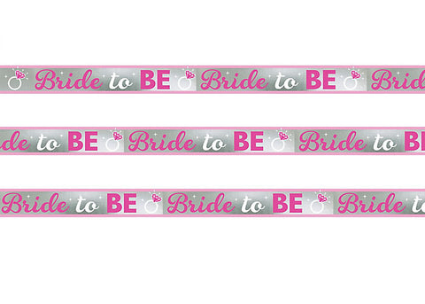 Bride to Be Foil Banner