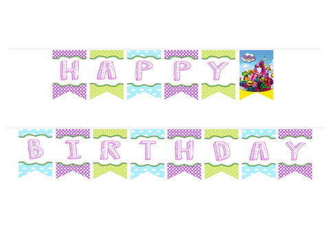 Dibo the Gift Dragon Birthday ribbon banner
