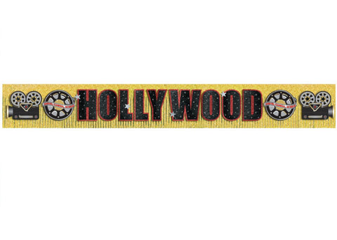 Glitter Hollywood Fringe Banner