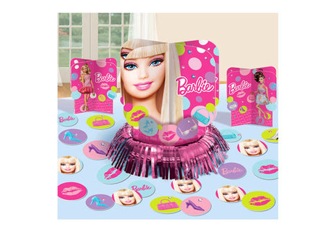 Barbie Table Decorating Kit