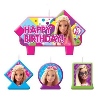 Barbie Sparkle Birthday Candle