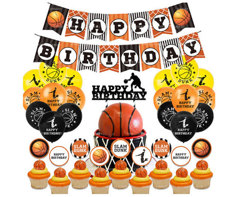 Basketball Birthday Mini Decorating Kit