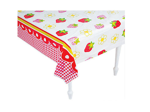 Strawberry Party Table Cover
