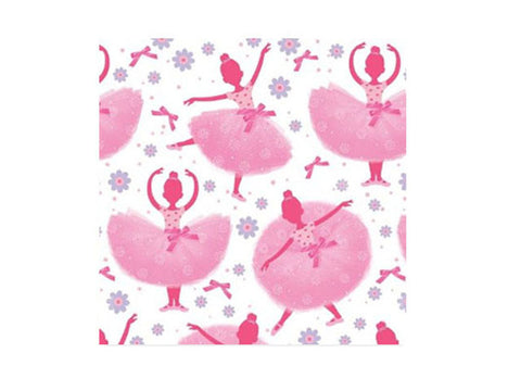 Tutu Much Fun Ballerina Beverage Napkins