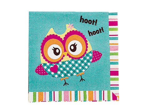 You're a Hoot Owl Beverage Napkins