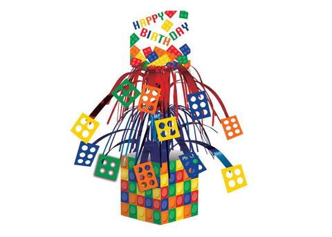 Blocks Party Table Centerpiece