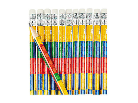 Blocks Party Pencils (12 ct)