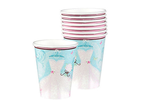 Blushing Bride Bridal Shower Paper Cups (18 ct)