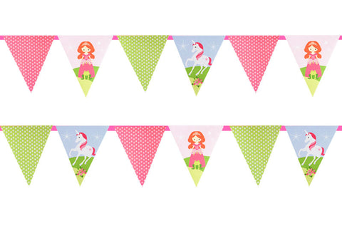 Princesses and Unicorns Buntings