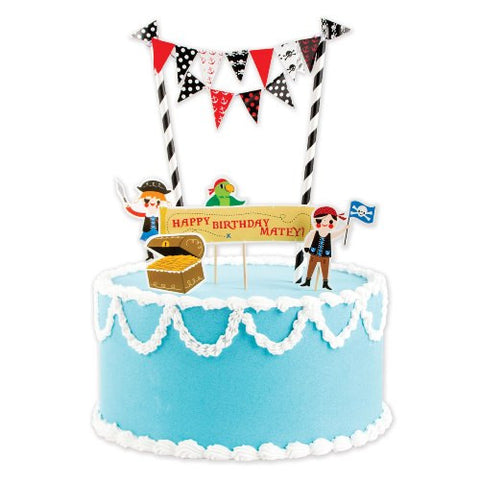 Pirates Party Cake Decorating Kit