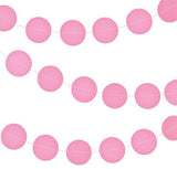 Circle Paper Garland - 10 feet (click for more colors)