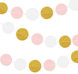 Glitter Circle Garland (click for more colors)