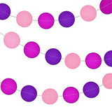Circle Paper Garland - 12 feet (click for more colors)