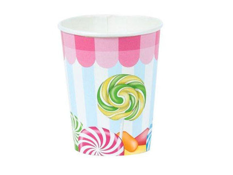 Candy Shoppe Paper Cups (8 ct)