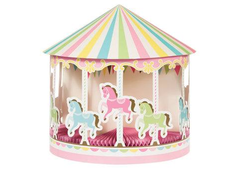 Carousel Party Honeycomb Table Centerpiece