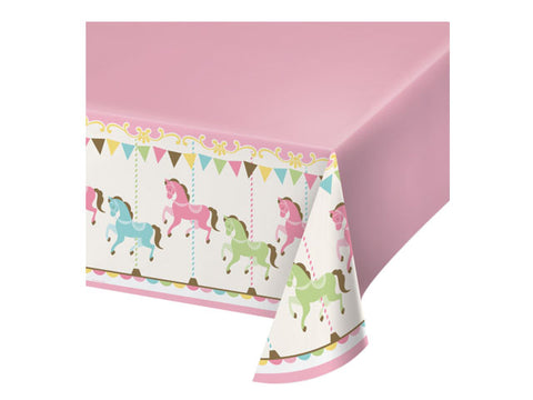 Carousel Party Table Cover