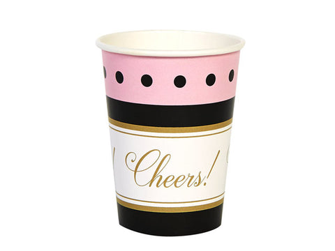 Cheers to You Paper Cups (8 ct)