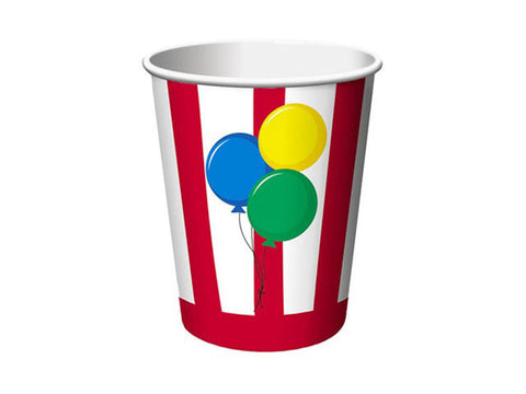 Circus Fun Paper Cups (8 ct)
