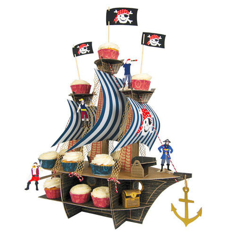 Ahoy There Pirate Treat Stand