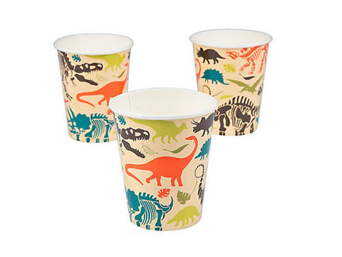 Dino Dig Paper Cups (8 ct)