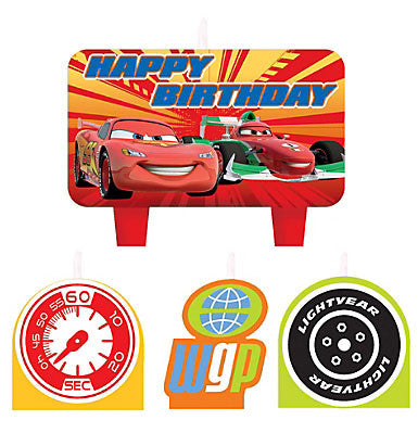 Disney Cars Birthday Candle