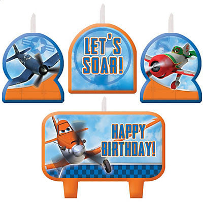 Disney Planes Birthday Candle