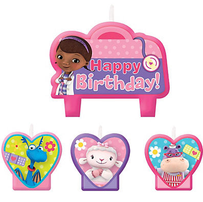 Doc Mcstuffins Birthday Candle