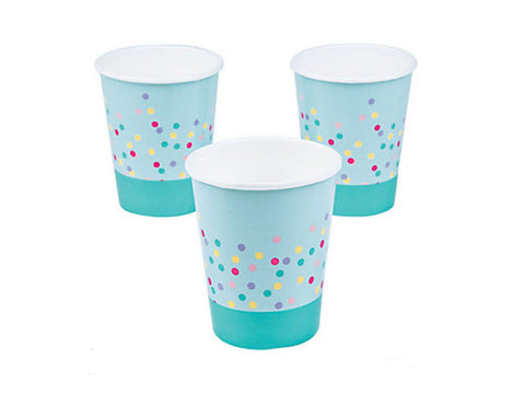 Donut Party Paper Cups (8 ct)