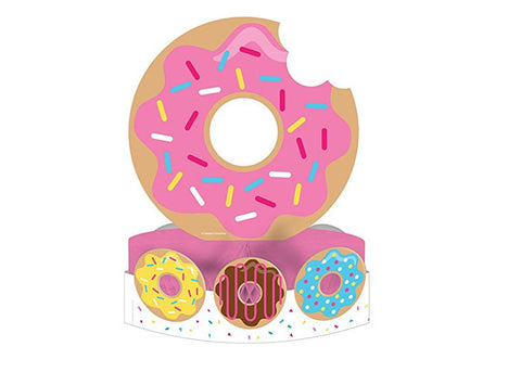 Donut Time Honeycomb Table Centerpiece