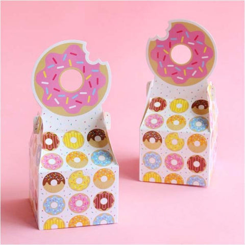 Donut Time Mini Treat Box (8 ct)