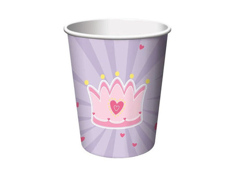 Fairytale Princess Paper Cups (8 ct)