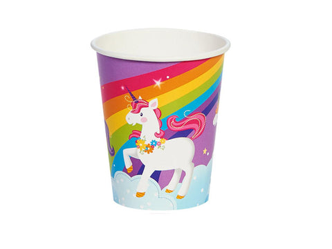 Fairytale Unicorn Paper Cups (8 ct)