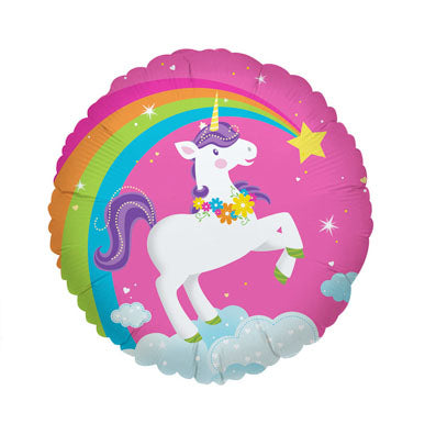 Fairytale Unicorn Foil Balloon