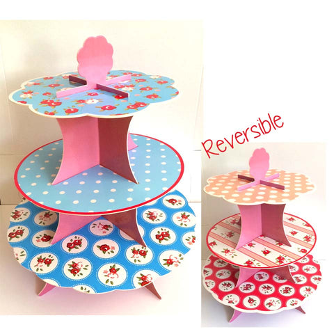 Florals Cupcake Stand