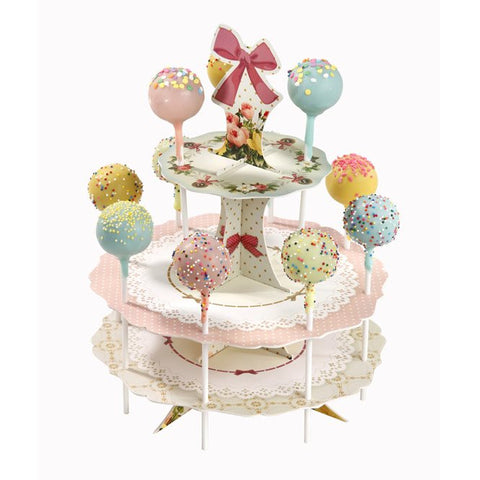 Frills and Frosting Cake Pop Stand